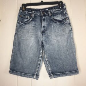 Fly Paper Bermuda shorts blue size 14
